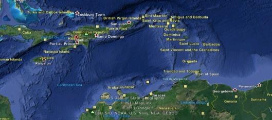 Suriname-Aruba-Haiti