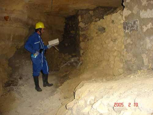 Paris Underground Quarry Inspection IGC
