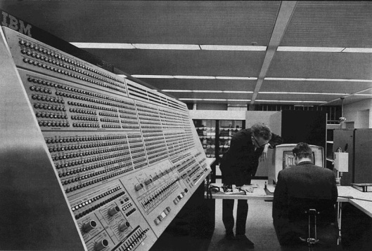 IBM System 360-91 late 1960s NASA