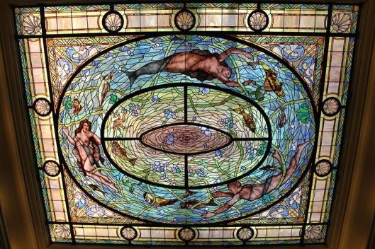 Stained Glass Skylight Fordyce Bathhouse Hot Springs, AR