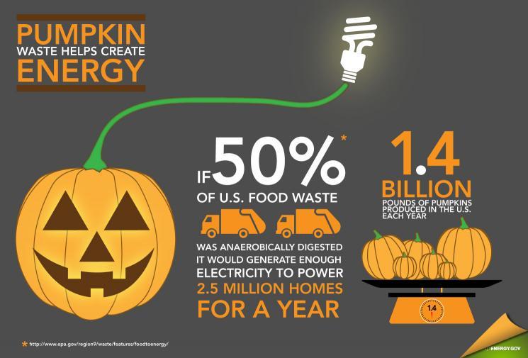 Pumpkin Power: Turning Food Waste into Energy | Mining