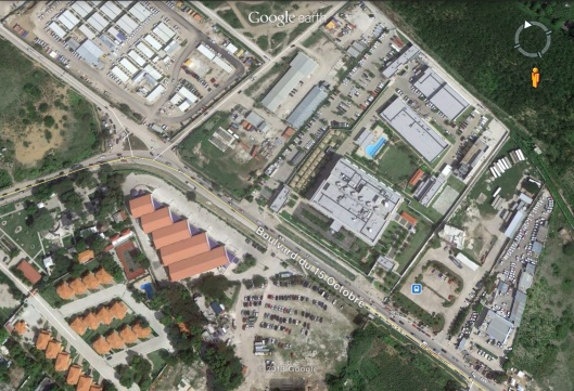 US Embassy and Gated Community
