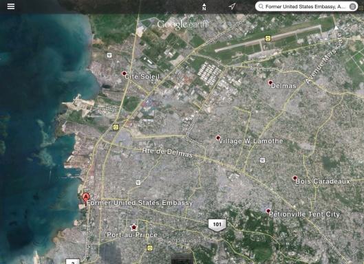 Former US Embassy Port-au-Prince