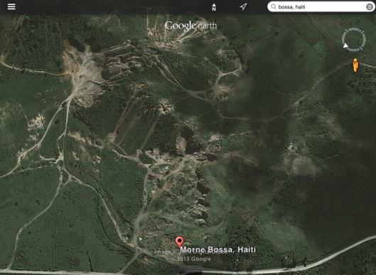 Morne Bossa area Haiti
