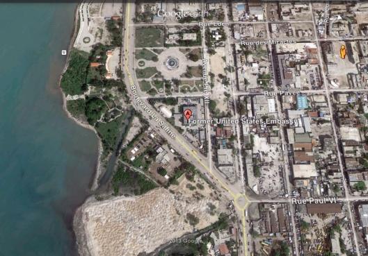 Former US Embassy Haiti