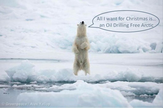 Greenpeace Polar Bear Christmas