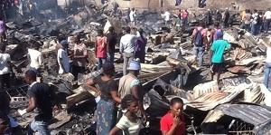 Alterpresse, 11 Jan. 2014, Burnt out Refugee Camp Delmas