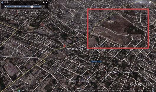 Delmas 33 Tent City area 2/4/2010