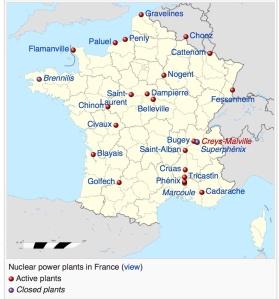 France Nuclear Power via Wikimedia