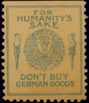 Don't Buy German Goods