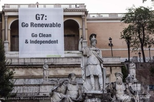 Greenpeace G7 Go Renewable Go Clean and Independent