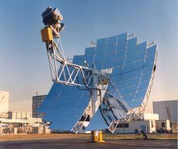 Solar Stirling engine — solar power in the Mojave Desert, San Bernardino County, California US Gov