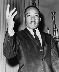 Martin Luther King, public domain