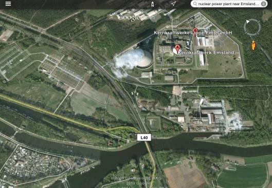 Emsland  Kernkraftwerk Germany