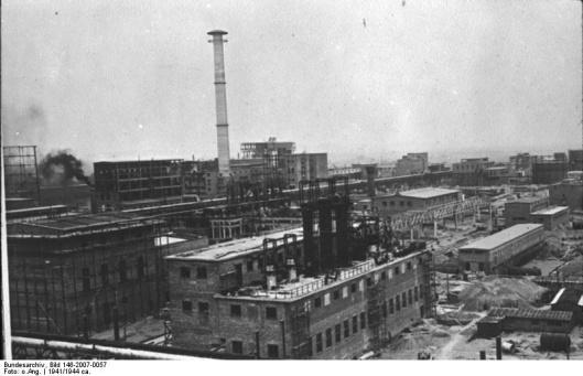 IG Farben 1941 Auschwitz III