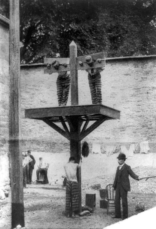 Flogging Delaware Prison 1907