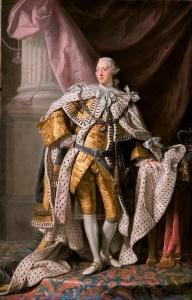George III, UK Coronation robes ca 1765
