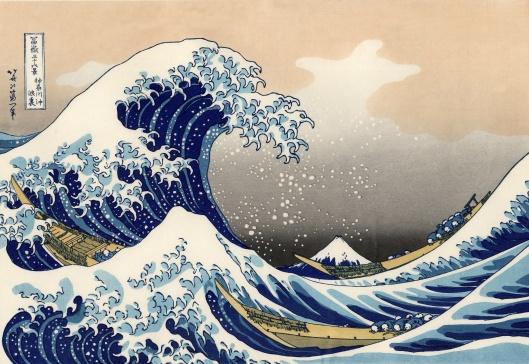 Mt. Fuji series Artist Katsushika Hokusai Great_Wave_off_Kanagawa 1829-32