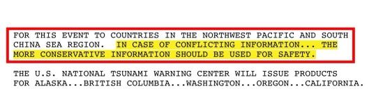 11 July Tsunami warning 2014 p. 2