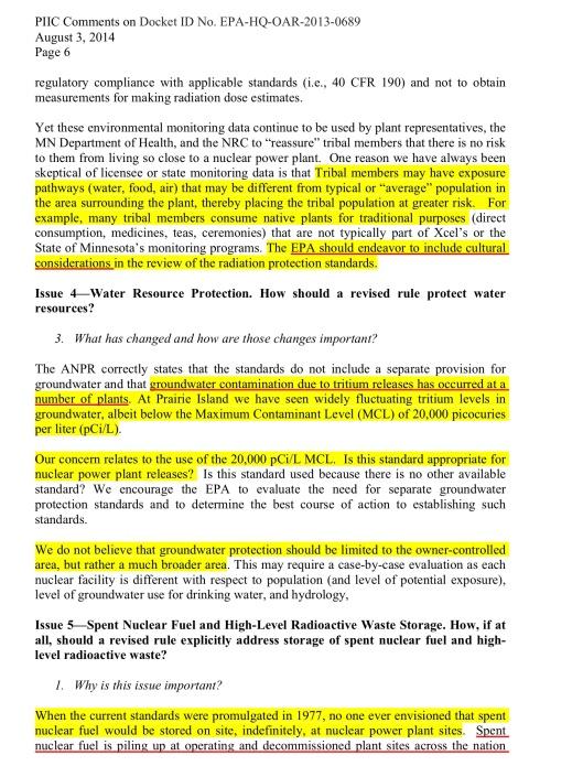 Prairie Island Sioux EPA comment, p. 6