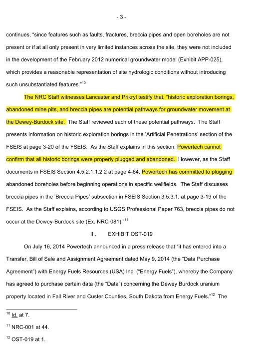 Powertech NRC August 6 2014, p. 3
