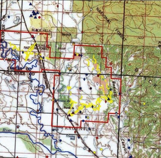 Powertech property black Hills National Park