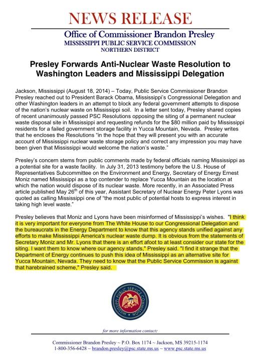 Presley PR August 18 2014