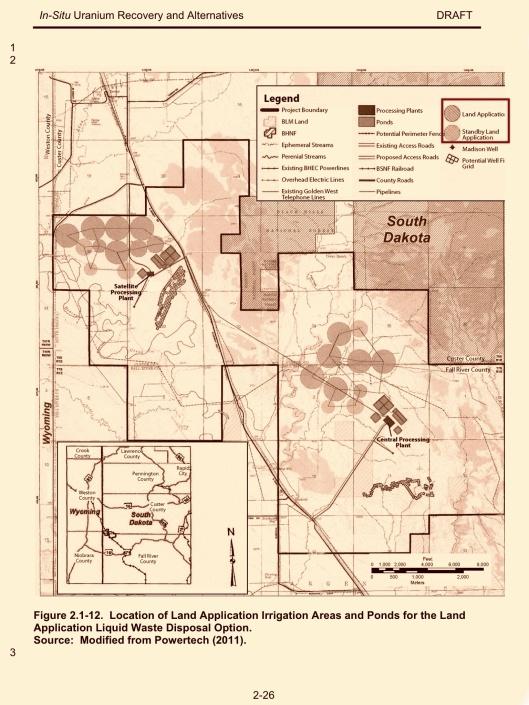 NRC EIS Powertech Dewey Burdock Land App Fig. 2.1, Nov. 2012