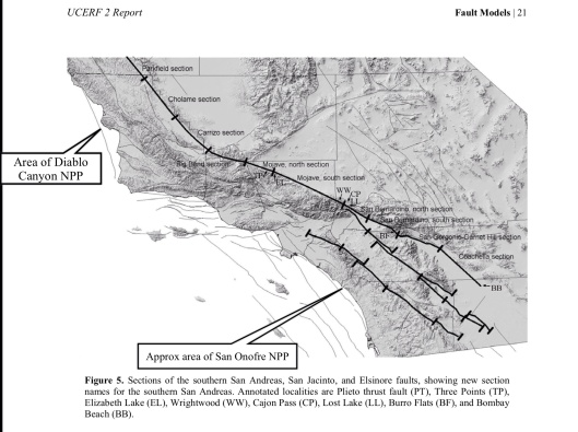 updated USGS 2007 San Onofre and Diablo Canyon NPP