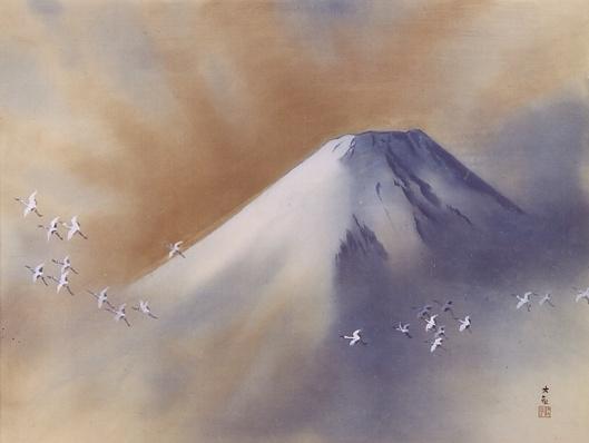 Yokoyama_Taikan Cranes
