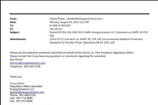 Energy Solutions email Monday Aug 4th 358 pm submission