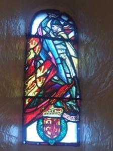 Wallace in St. Margs Chapel