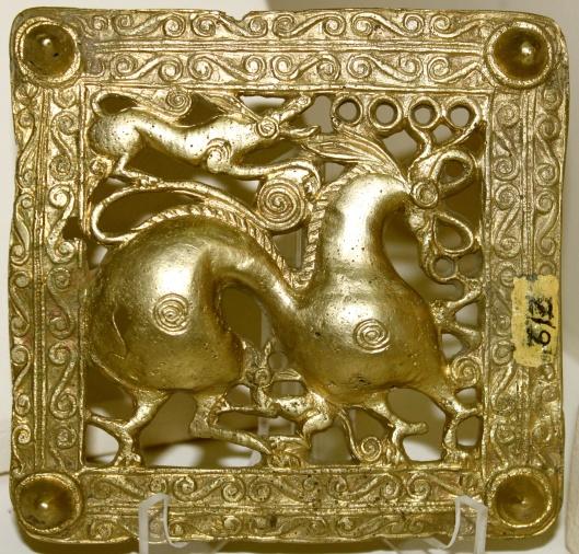 Gold Scythian Belt (Minagchevir, Azerbaijan), Photo by Urek Meniashvili, CC-By-SA-3.0, via Wikimedia