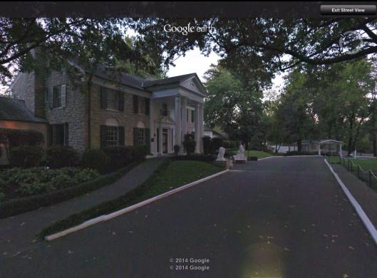 Graceland streetview approach