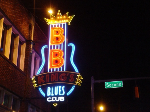 BB King Blues Club in Memphis Beale St.