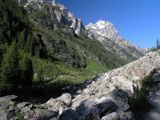 Cascade Canyon Main Canyon, NPS, Grand Teton