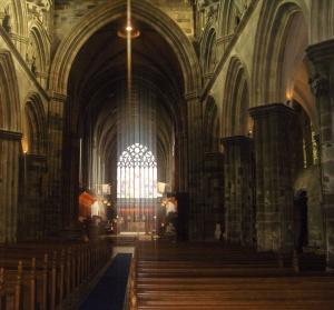 Paisley Abbey Interior