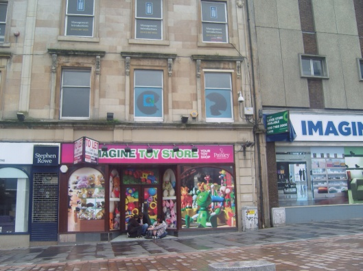 downtown Paisley Toy Shop