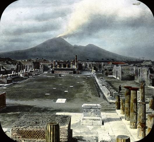old image of Pompeii public domain