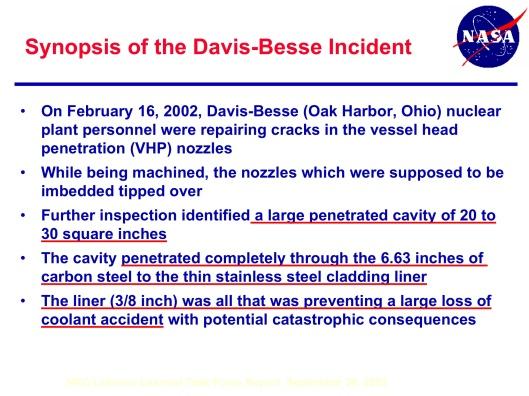 Davis Besse Nuclear Close Call p. 2