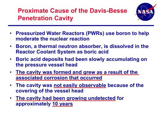 Davis Besse Nuclear Close Call, p. 7