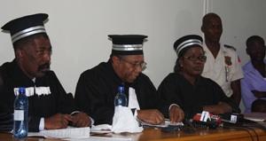 Haiti Judges Alter Presse