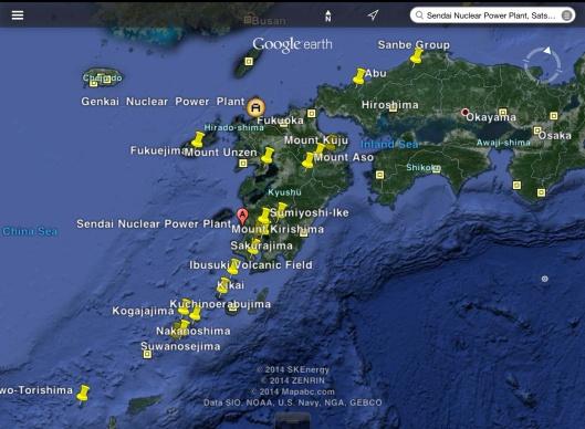 Sendai Genkai NPS and Volcanos