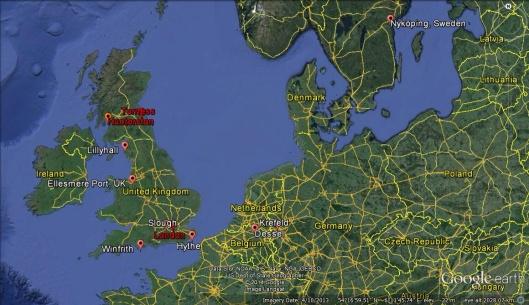 UK sites for EDF ILW export