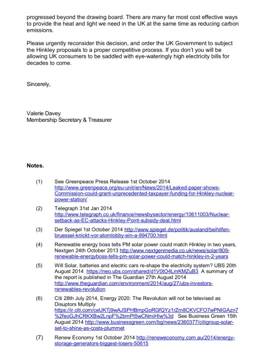 Stop Hinkley Letter to EU Commissioner Oct. 2014, p. 2