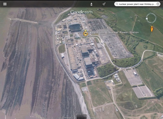 Hinkley Point NPP up close