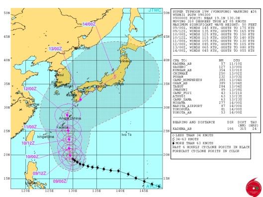 Japan 9 Oct. 2014 typhoon Fukushima