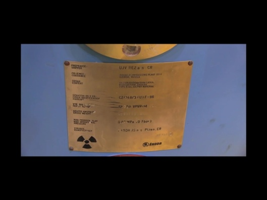 plaque for hungarian nuclear waste