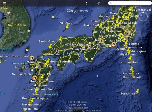 Several Japan NPP including Sendai
