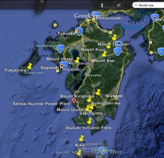 Sendai in closer